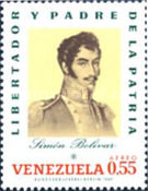 [Airmail - Portraits of Bolivar, type BQM]