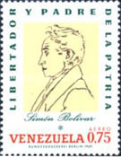 [Airmail - Portraits of Bolivar, type BQP]