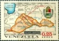 [Airmail - States of Venezuela - Maps and Arms of the Various States, type BRW]