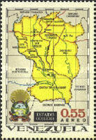 [Airmail - States of Venezuela - Maps and Arms of the Various States, type BRZ]