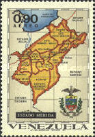 [Airmail - States of Venezuela - Maps and Arms of the Various States, type BSF]