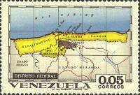 [States of Venezuela - Maps and Arms of the Various States, type BSI]