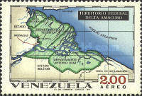 [Airmail - States of Venezuela - Maps and Arms of the Various States, type BSJ]