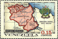 [States of Venezuela - Maps and Arms of the Various States, type BSK]