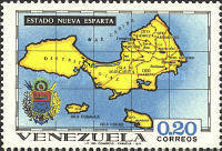 [States of Venezuela - Maps and Arms of the Various States, type BSL]