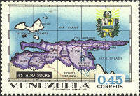 [States of Venezuela - Maps and Arms of the Various States, type BTA]