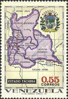 [States of Venezuela - Maps and Arms of the Various States, type BTB]