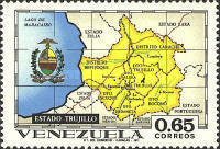 [States of Venezuela - Maps and Arms of the Various States, type BTC]