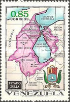 [States of Venezuela - Maps and Arms of the Various States, type BTE]