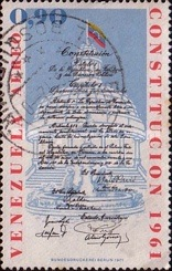[Airmail - The 10th Anniversary of 1961 Constitution, type BTK]