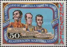 [The 150th Anniversary of Naval Battle of Maracaibo, type BVB]