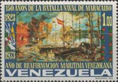 [The 150th Anniversary of Naval Battle of Maracaibo, type BVC]