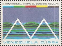 [The 3rd Law of the Sea Conference, Caracas, type BWA]