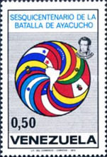 [The 150th Anniversary of Battle of Ayacucho, type BXH]
