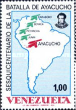 [The 150th Anniversary of Battle of Ayacucho, type BXI]