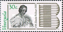 [The 200th Anniversary of the Birth of Simon Bolivar, 1783-1830, type CAR]