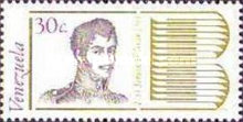 [The 200th Anniversary of the Birth of Simon Bolivar, 1783-1830, type CBM]