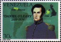 [The 125th Anniversary of the Death of Daniel O'Leary, Publisher of Bolivar's Memoirs, 1801-1854, type CCJ]