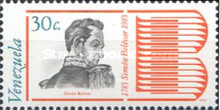 [The 200th Anniversary of the Birth of Simon Bolivar, 1783-1830, type CCR]