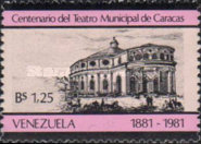 [The 100th Anniversary of Caracas Municipal Theatre, type CEA]