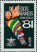 [The 9th Bolivarian Games, Barquismeto, type CED]