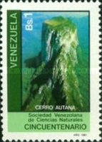 [The 50th Anniversary of Venezuelan Natural Sciences Society, type CEJ]
