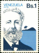 [Jules Verne, Writer, Commemoration, 1828-1905, type CEO]