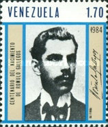 [The 100th Anniversary of the Birth of Romulo Gallegos, Writer and President, 1884-1969, type CIK]