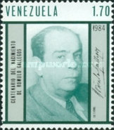 [The 100th Anniversary of the Birth of Romulo Gallegos, Writer and President, 1884-1969, type CIR]