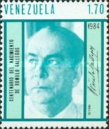 [The 100th Anniversary of the Birth of Romulo Gallegos, Writer and President, 1884-1969, type CIS]