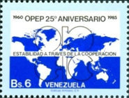 [The 25th Anniversary of Organization of Petroleum Exporting Countries, type CJE]