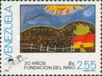 [The 20th Anniversary of Childrens' Paintings, type CMI]