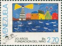 [The 20th Anniversary of Childrens' Paintings, type CMN]