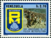 [The 17th Anniversary of Caracas City Police, type CMT]