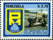 [The 17th Anniversary of Caracas City Police, type CMX]