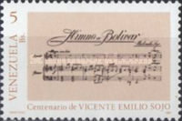 [The 100th Anniversary of the Birth of Vicente Emilio Sojo, Composer, 1887-1974, type COD]