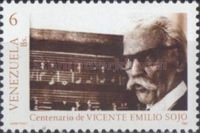 [The 100th Anniversary of the Birth of Vicente Emilio Sojo, Composer, 1887-1974, type COE]