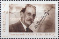[The 100th Anniversary of the Birth of Vicente Emilio Sojo, Composer, 1887-1974, type COF]