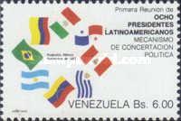[The 1st Meeting of Eight Latin-American Presidents of Contadora and Lima Groups, Acapulco, type CQI]