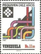 [The 10th Anniversary of Petro-Chemical Company of Venezuela, type CQM]