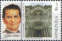 [The 100th Anniversary of the Birth of St. John Bosco, Founder of Salesian Brothers, 1815-1888, type CQR]