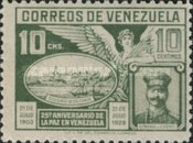 [The 25th Anniversary of Capture of Ciudad Bolivar and Peace in Venezuela, type CW]