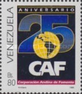 [The 25th Anniversary of Andean Pact, International Co-operation Group, type DFX]