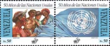 [The 50th Anniversary of the United Nations, type DFZ]