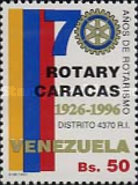 [The 70th Anniversary of Rotary International in Caracas, type DKM]