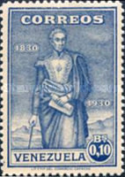 [The 100th Anniversary of the Death of Simon Bolivar, 1783-1830, type DO]