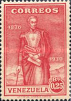 [The 100th Anniversary of the Death of Simon Bolivar, 1783-1830, type DP]