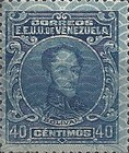 [Simon Bolivar - Different Frames and Printed on Winchester Security Paper, type DX]