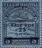 [Airmail - Airplane and Map Stamps of 1932 Overprinted