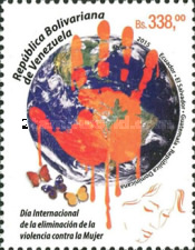 [Stop Violence Against Women - Joint Issue with Dominican Republic, Ecuador, El Salvado & Guatemala, type FKT]